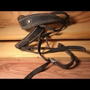 Studded D-Strap for Horses
